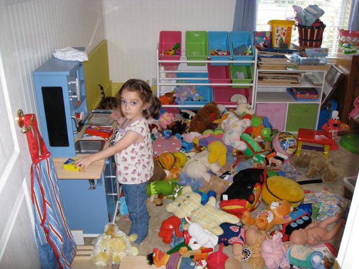 неаккуратный ребенок