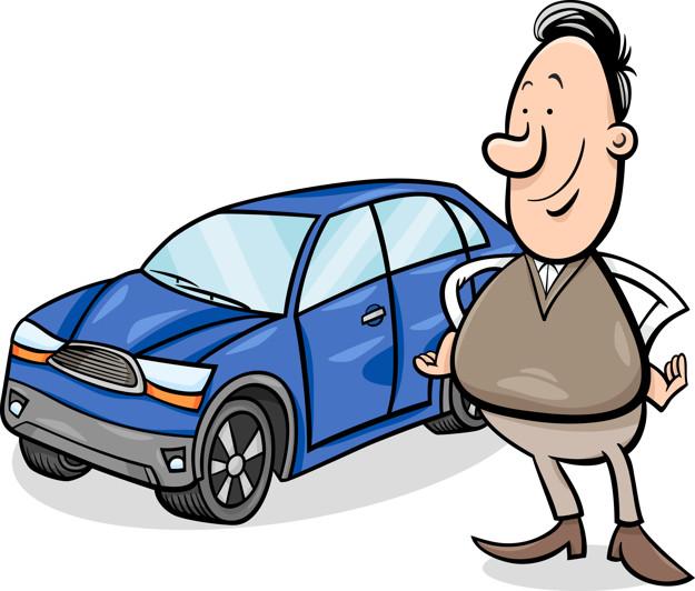 водитель и машина