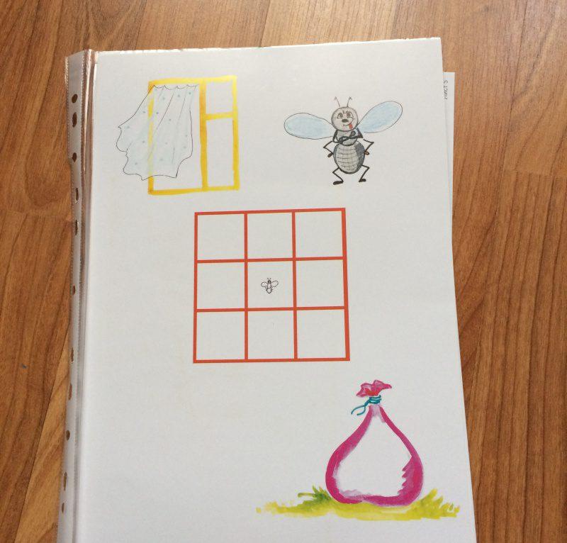 игра муха для коррекции пространственных представлений у детей