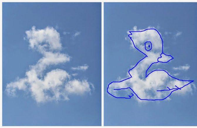 игра на развитие воображения дошкольников облака