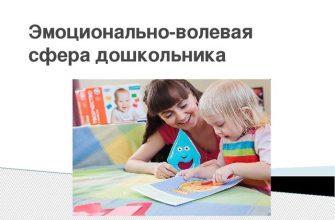 дети с особенностями эмоционально-волевой сферы
