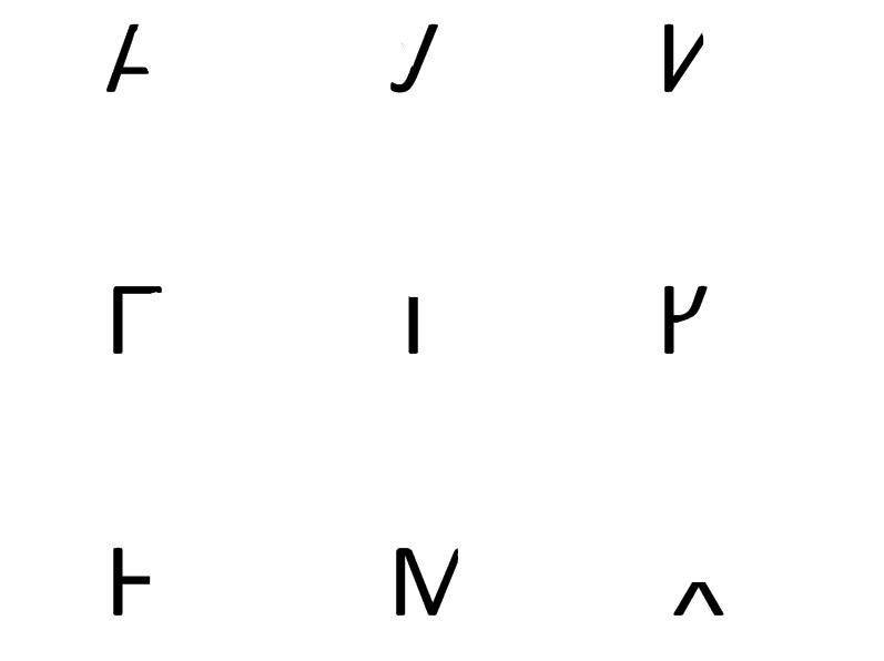 написание элементов букв