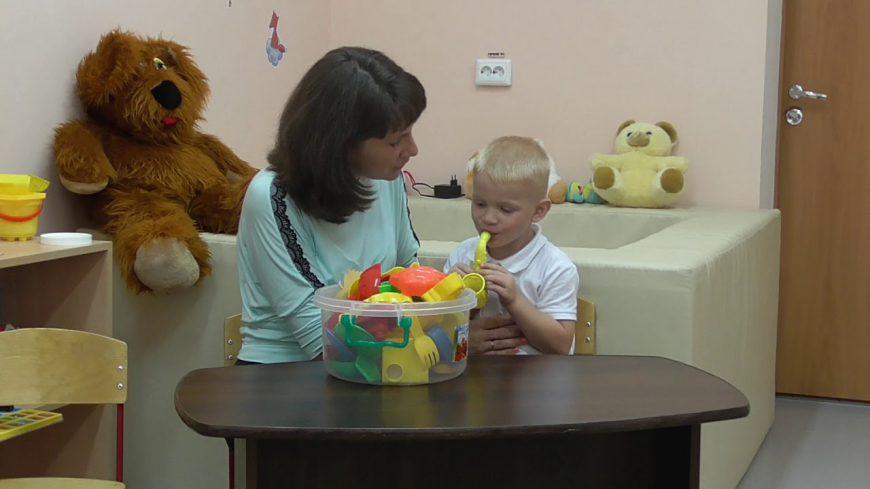 работа с ребенком-алаликом