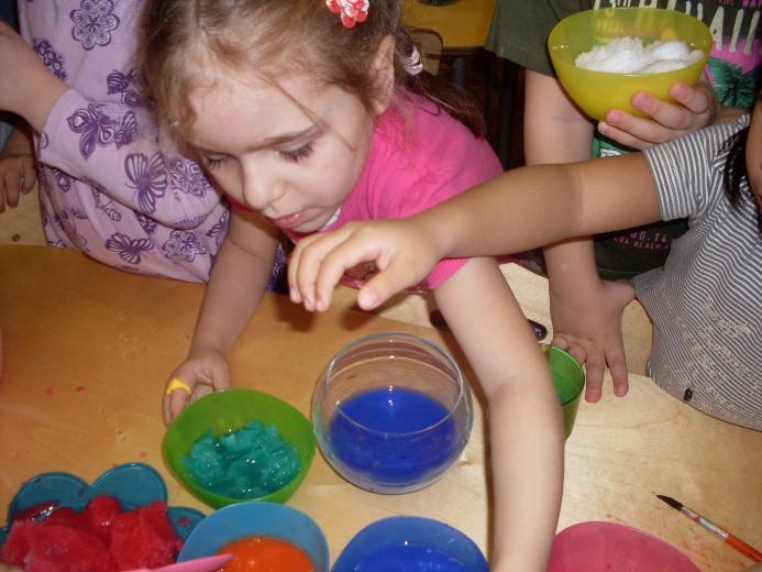 игры с красками для алаликов